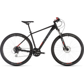 Cube Aim Race MTB Hardtail sort